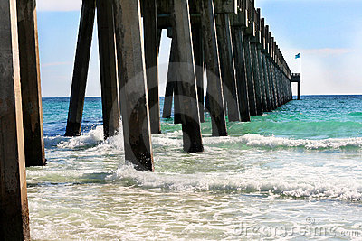 The pier at Pensacola Beach