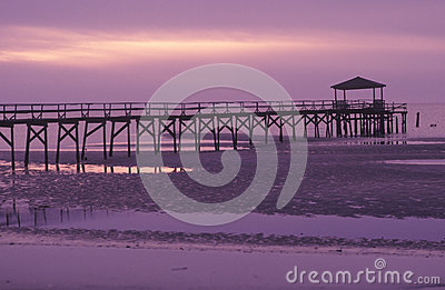 Pier At Sunrise i