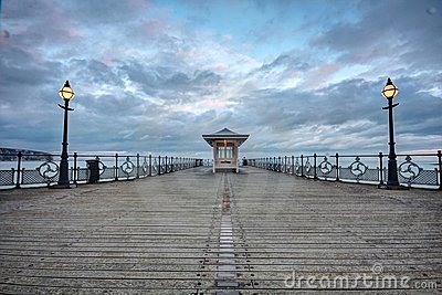 The Pier at Swanage in Dorset