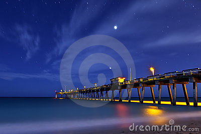 Pier at venice beach florida