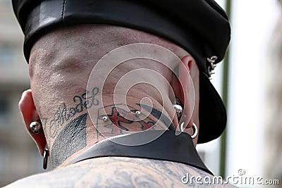 Piercing back