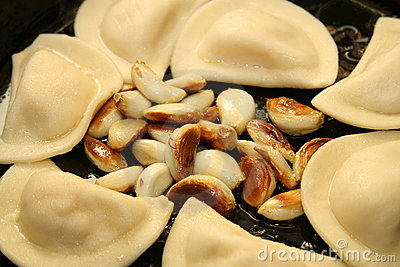 Pierogies And Garlic