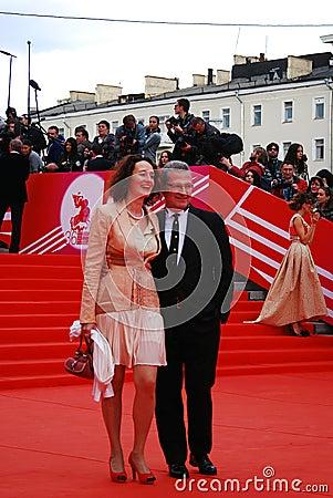 Pierre Christian Brochet at XXXVI Moscow International Film Festival Editorial Photo