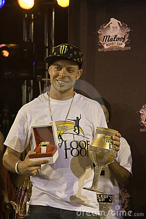 Pierre Luc Gagnon - Carl s Jr Pro Vert Winner Editorial Photo