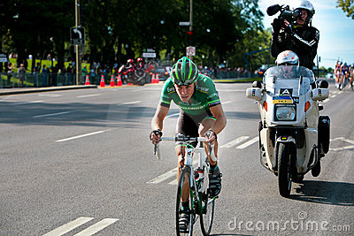 Pierre Rolland FRom the Europcar Team Editorial Image