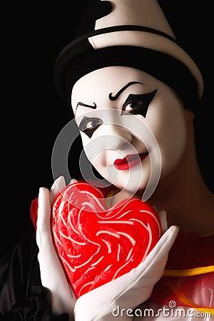 Pierrot in love