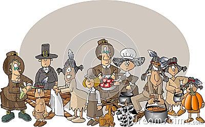 Pierwsze Święto dziękczynienia