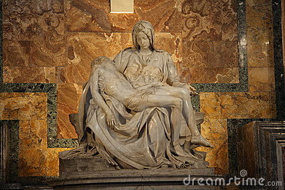 Pietà of Michelangelo
