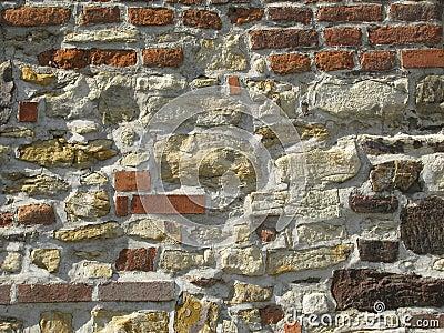 Pietra e muro di mattoni fotografia stock libera da for Mattoni e pietra americani
