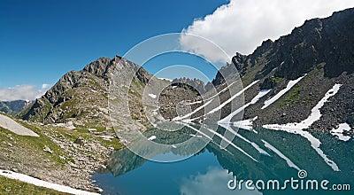 Pietra Rossa Lake, Italian Alps