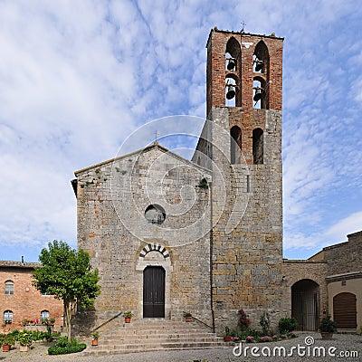 Pieve S. Giovanni Battista, in Lucignano - Tuscany