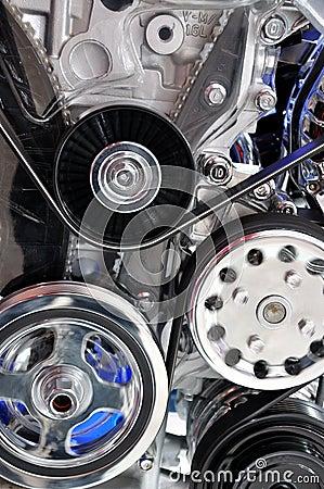 Pieza del motor de coche