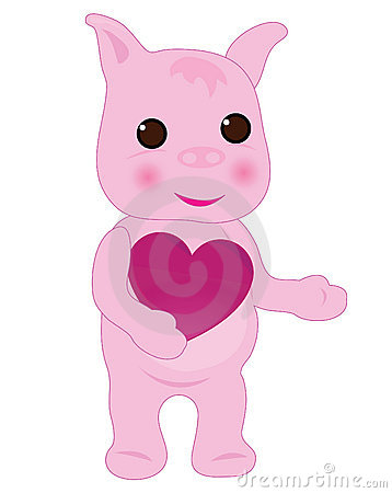 Pig with love