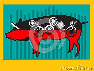 Pig machine
