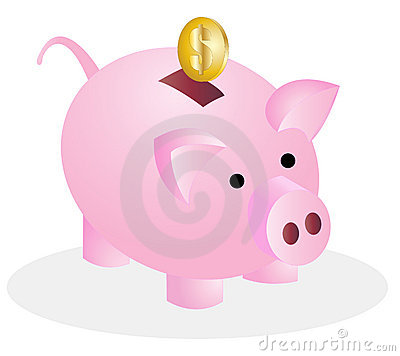 Free Pig Money Bank Stock Image - 20933781