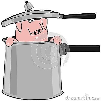 Pig In A Pressure Cooker