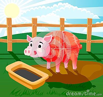 Pig sausage
