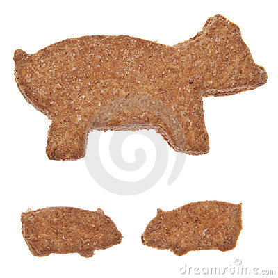 Pig Shaped Cookies