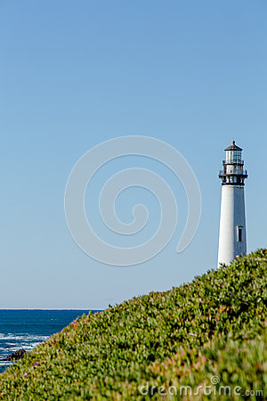 Free Pigeon Point Lighthouse Royalty Free Stock Photos - 87842738