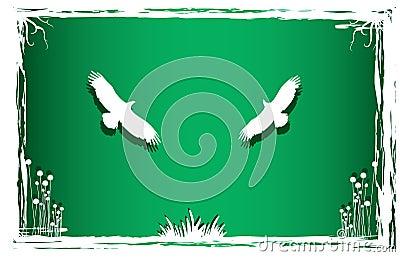 Pigeonsin art nature