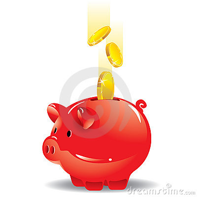 Free Piggy Bank Royalty Free Stock Image - 13299566