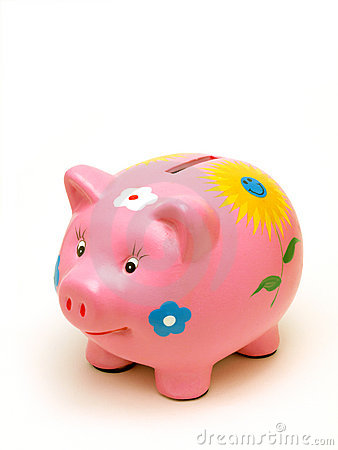 Free Piggy Bank Royalty Free Stock Photography - 14106897
