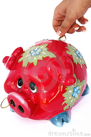 Free Piggy Bank Royalty Free Stock Photo - 3338945