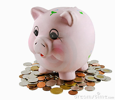 Piggy Bank Editorial Stock Photo