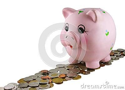 Piggy Bank Editorial Photo
