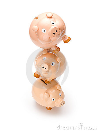 Piggy Bank Balance Money Business