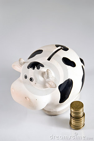 Piggy bank, cash cow