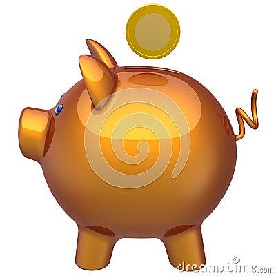 Piggy bank classic profile (Hi-Res)