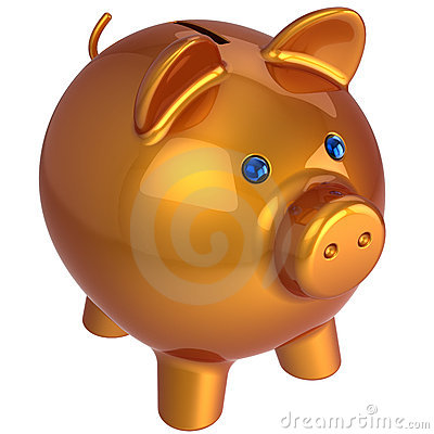 Piggy bank. Classic version (Hi-Res)