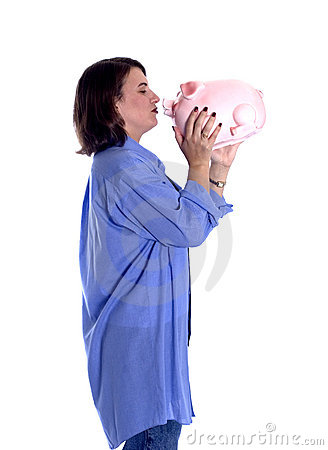 Piggy Bank Kiss