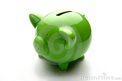 Piggy bank or money-box