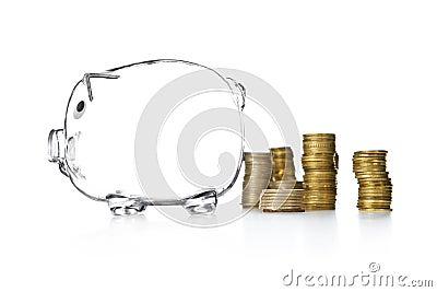 Piggy Bank money box style