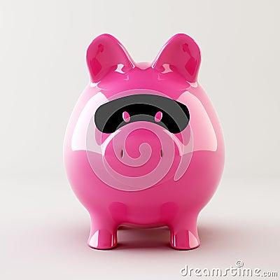 Piggy bank robber
