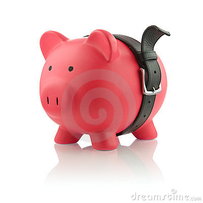 Piggy Bank Series - Tough Finances