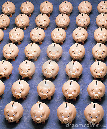 Piggy Bank Superannuation Savings