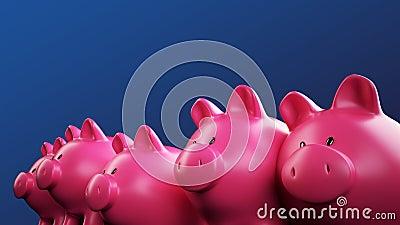 Piggy bank team