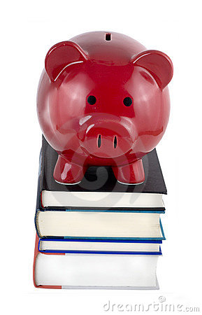 Piggy bank text books