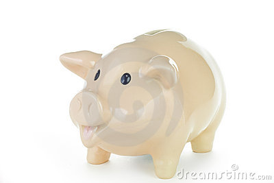 Piggy Bank with Work Path