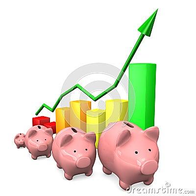 Piggy Banks Chart
