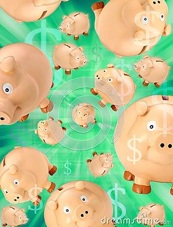 Piggy Banks Money Budget