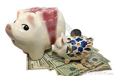 Piggy Banks/ Savings/ Money