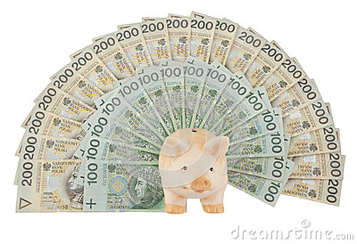 Piggy mit Geld