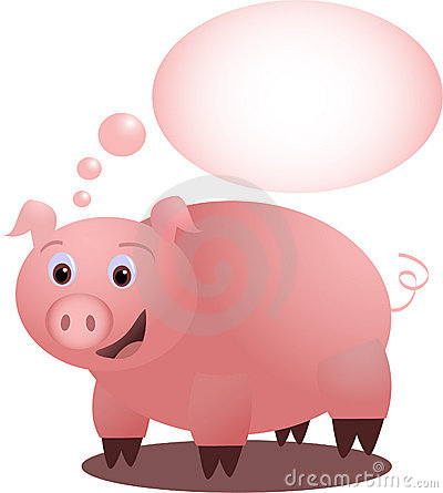 Piggy s idea - vectorial