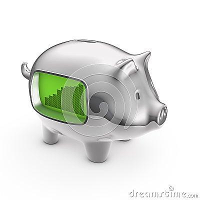 Piggybank del LCD