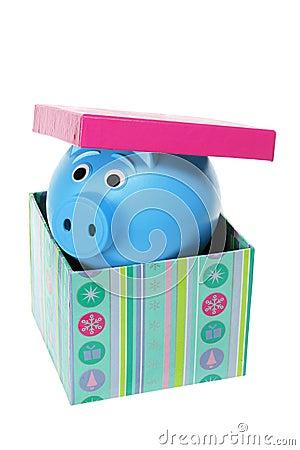 Piggybank in Gift Box