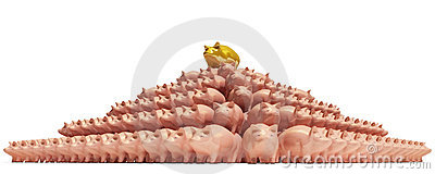 Piggybank-pyramid